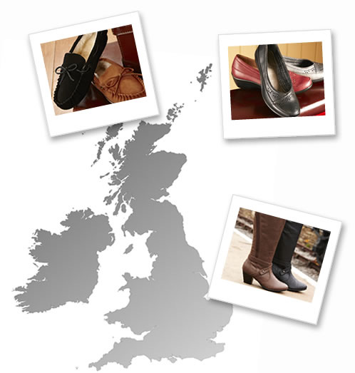 Our stockists map